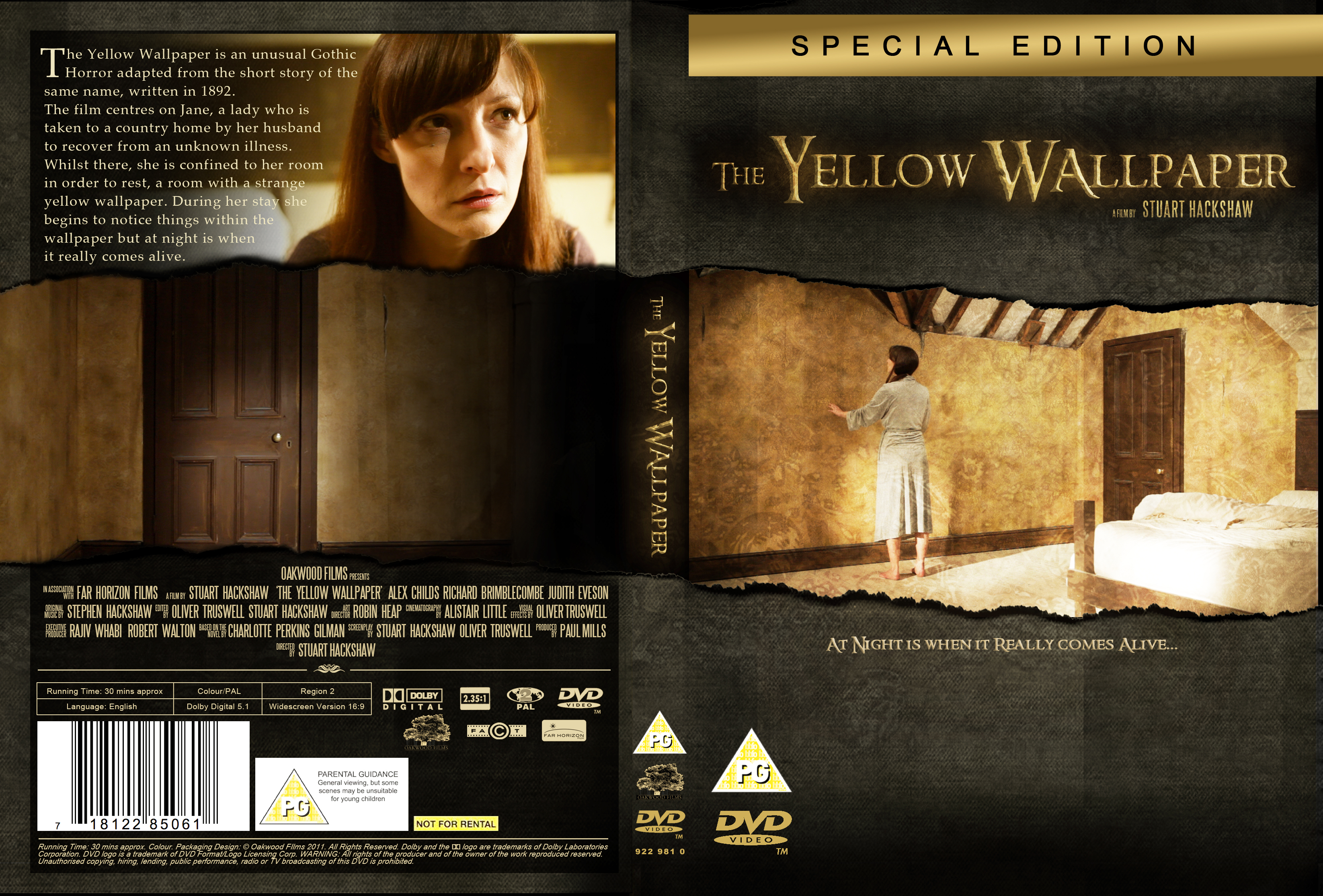 First DVD Cover Design For The Yellow Wallpaper ...